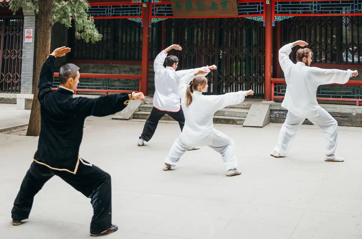 Traditional Chinese Kung Fu-- Experience in Beijing