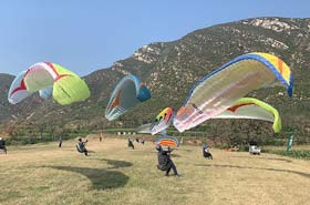 Paragliding-- Experience in Beijing